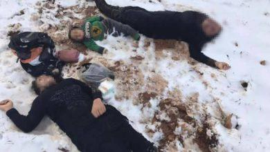 صورة تجمدوا حتى فارقوا الحياة .. موت 13 سوري خلال محاولتهم النزوح إلى لبنان