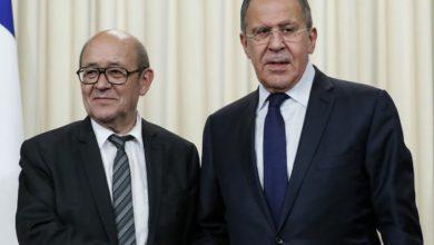 صورة فرنسا تدعو روسيا للضغط على الأسد للإلتزام بالهدنة