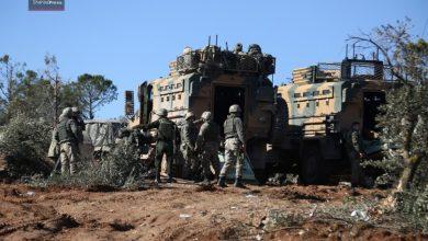 صورة غصن الزيتون تحقق تقدما جديدا في عفرين وتركيا ترسل تعزيزات إضافية