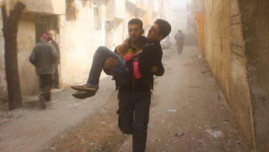 صورة أكثر من 100 شهيد في الغوطة الشرقية منذ صدور قرار وقف الأعمال القتالية
