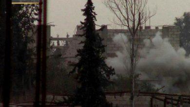 صورة قوات الأسد تتوغل في الغوطة الشرقية وتخسر 150 قتيل