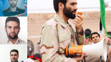 صورة بينهم ضباط .. قتلى من الحرس الثوري الايراني في القصف الإسرائيلي على التيفور