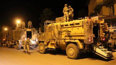 صورة تعزيزات جديدة للجيش التركي في هاتاي على الحدود مع سوريا