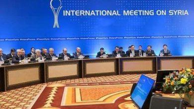 صورة بمشاركة لبنان والعراق بدأ مباحثات أستانة 13 بشأن سوريا