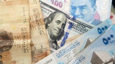 صورة الليرة التركية والسورية أمام العملات والذهب اليوم الثلاثاء 3 أيلول