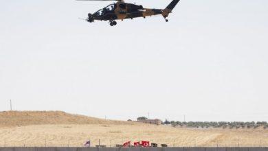صورة طلعة جوية تركية أمريكية جديدة شمال شرق سوريا
