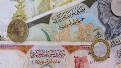 صورة الليرة السورية والتركية مقابل العملات والذهب الإثنين 16أيلول