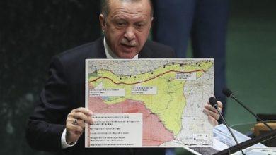 صورة أردوغان: مد المنطقة الآمنة إلى الرقة حل لمشكلة اللاجئين السوريين