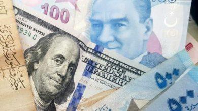 صورة الليرتان السورية والتركية مقابل العملات والذهب الجمعة 27 أيلول