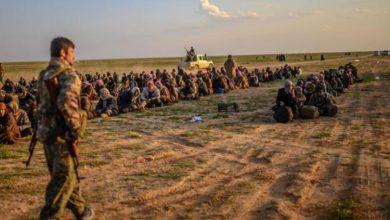 صورة واشنطن تنقل 50 عنصر داعشي من سوريا إلى العراق