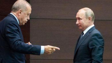 صورة أردوغان لبوتين: سنرد بحزم على أي هجمات مماثلة من النظام السوري