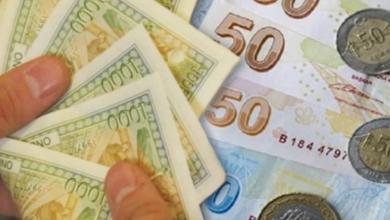صورة الليرتان السورية والتركية مقابل العملات والذهب الخمس 13 شباط