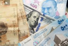 صورة الليرتان السورية والتركية مقابل الذهب والدولار واليورو الخميس 20 شباط