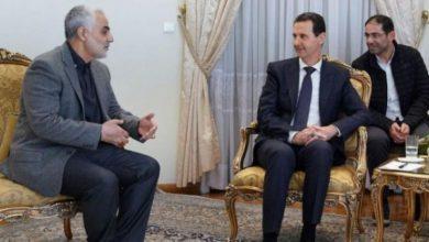 صورة صحيفة إسرائيلية: الأسد تراجع عن الفرار من سوريا بسبب رسالة من سليماني