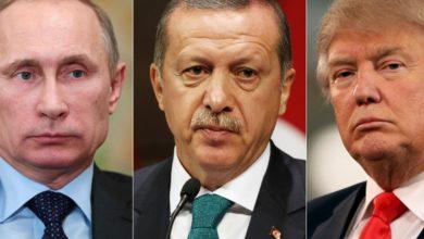 صورة نيويورك تايمز: من الذي يدعمه ترامب في سوريا.. بوتين أم أردوغان؟