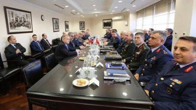 صورة من أجل بحث الدوريات المشتركة والممر الآمن … لقاءات روسية تركية بأنقرة