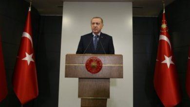 صورة أردوغان يعلن عزل عدة ولايات تركية وحظر تجول يشمل من دون العشرين