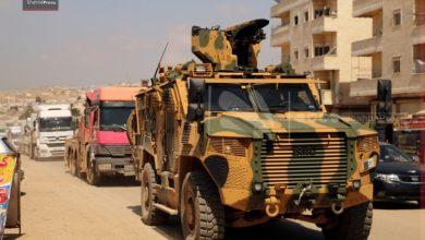 صورة تعزيزات جديدة للجيش التركي المتمركز في إدلب