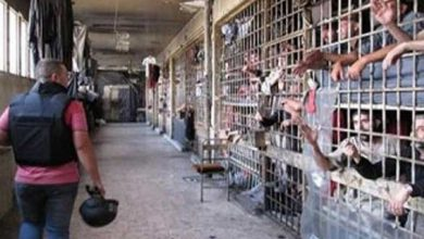 صورة مجلة بريطانية: هل يقتل كورونا السجناء السوريين نيابة عن الأسد؟