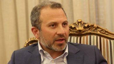 صورة باسيل: سوريا هي رئة لبنان وقيصر يستهدف الاثنان معا