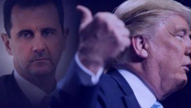 صورة حقائق تكشف لأول مرة بين ترامب والأسد
