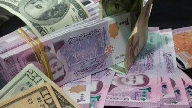 صورة أسعار صرف الليرة السورية مقابل الذهب والعملات الإثنين 13 تموز