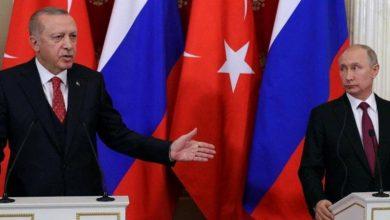 صورة أردوغان وبوتين يتفقا على مزيد من التنسيق بخصوص إدلب