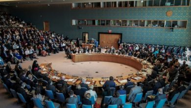 صورة جلسة أممية عاصفة حول تحقيقات استخدام الأسد للكيماوي