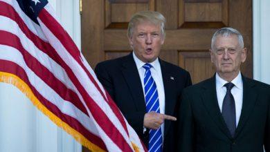 صورة ترامب: كنت أريد تصفية الأسد ولكن وزير الدفاع عارض ذلك