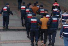 صورة توقيف 10 مشتبهين في عملية ضد داعش جنوبي تركيا