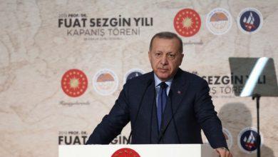 صورة أردوغان: حديث ماكرون عن إعادة هيكلة الإسلام وقاحة وقلة أدب