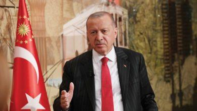 صورة أردوغان: تركيا لن تبقى في الأراضي السورية إلى الأبد