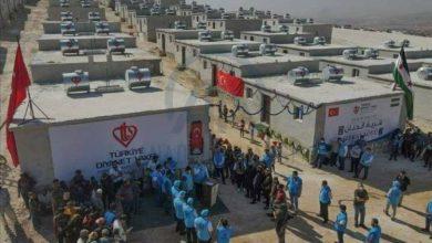 صورة منظمة تركية تسلم 600 وحدة سكنية لسوريين في إدلب
