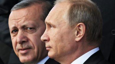 صورة أردوغان وبوتين يبحثان أوضاع سوريا وليبيا وقضية قره باغ
