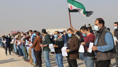 صورة حملة سورية تضع شروطا لعودة اللاجئين أولها رحيل الأسد