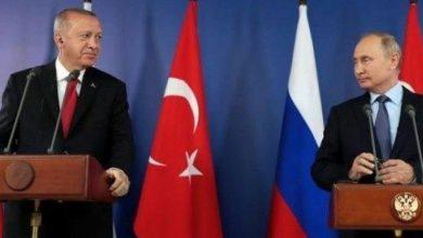 صورة خلال مباحثات هاتفية.. أردوغان يدعو بوتين لتطبيق تجربة قره باغ في سوريا