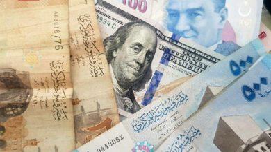 صورة أسعار صرف الليرة مقابل الذهب والعملات يوم الخميس 25 آذار