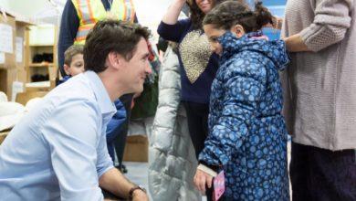 صورة ترودو: اللاجئين السوريين في كندا أصبحوا جزء منها