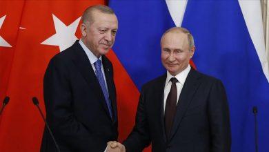 صورة بوتين: واثق باستمرار التعاون بين روسيا وتركيا في العام الجديد
