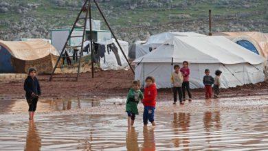صورة الأمم المتحدة: 120 ألف نازح شردتهم الأمطار يكافحون من أجل البقاء أحياء
