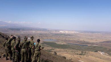 صورة طائرات إسرائيلية تلقي مناشير على القنيطرة.. هذا مضمونها