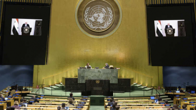 """صورة لجنة """"إنهاء الاستعمار"""" التابعة للأمم المتحدة ترشح مندوب نظام الأسد لعضويتها"""