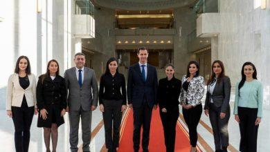 صورة خلال اجتماعه مع صحفيين موالين.. بشار الأسد طالب بإيقاف برامج الطبخ