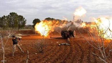 صورة بينهم ضباط روس.. قتلى وجرحى بقصف صاروخي للثوار على قوات الأسد