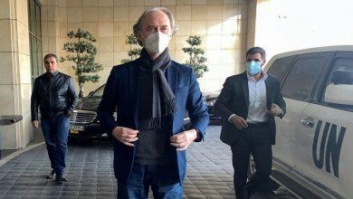 """صورة """"بيدرسن"""" يصل دمشق ويحدد القضايا التي سيناقشها مع نظام الأسد"""