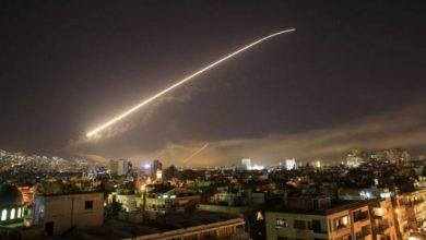 صورة انفجارات في دمشق.. إعلام الأسد يعلن تصديه لعدوان إسرائيلي
