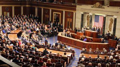 صورة بيان مشترك بمجلس الشيوخ الأميركي يدين جرائم نظام الأسد ضد شعبه