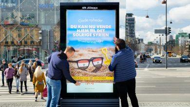 """صورة """"سوريا المشمسة"""" حملة لحزب دنماركي متطرف من أجل ترحيل السوريين"""