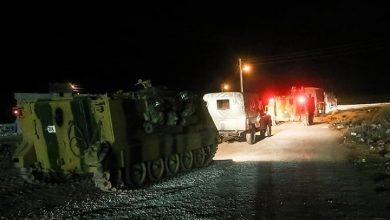 صورة مقتل جنديين تركيين بهجوم لميليشيا YPG شمال سوريا
