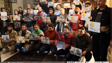 صورة بعد ثلاث سنوات على التهجير.. رابطة إعلاميي الغوطة تقيم فعالية ثورية (صور)